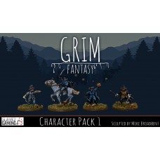 15mm Grim Fantasy - Character Pack 1