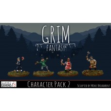 15mm Grim Fantasy - Character Pack 2