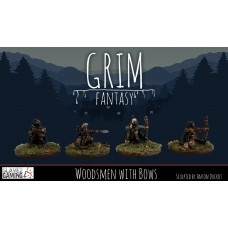 15mm Grim Fantasy - Woodsmen with Bows