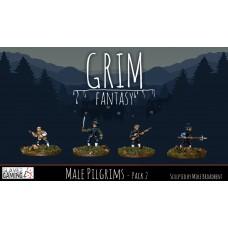 15mm Grim Fantasy - Male Pilgrims pack 2