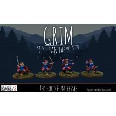 15mm Grim Fantasy - Red Hood Huntresses