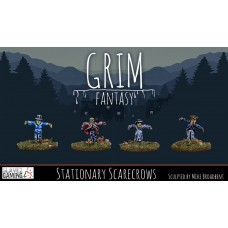 15mm Grim Fantasy - Stationary Scarecrows