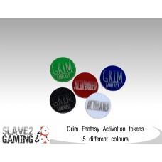 15mm Grim Fantasy - Activation Tokens