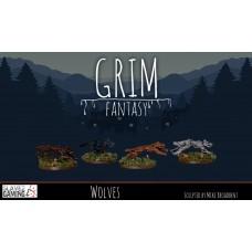 15mm Grim Fantasy - Wolves