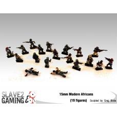 15mm Modern Africans
