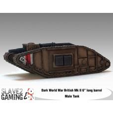 "British Mk II 6"" Long barrel Light Tank"