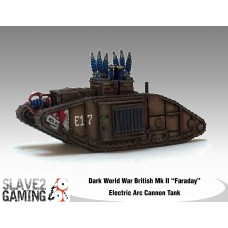 "British Mk II ""Faraday"" Electric Arc Cannon Tank"