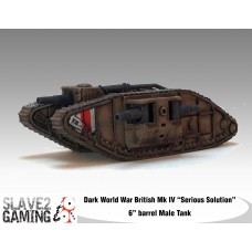 "British Mk IV ""Serious Solution"" male Tank"
