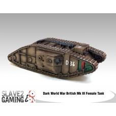 British Mk III Female Tank