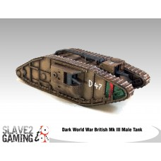 British Mk III Male Tank