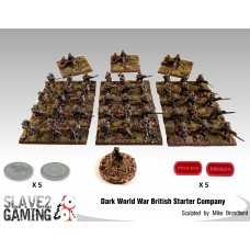 Dark World War Starter set - British
