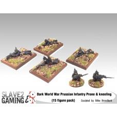 Prussian Infantry Prone & Kneeling Pack