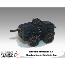 Prussian W7V 80mm Long Barreled Tank