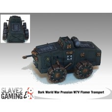 Prussian W7V Flamer Troop Transport