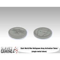 Dark World War Activiation Token - Hellspawn