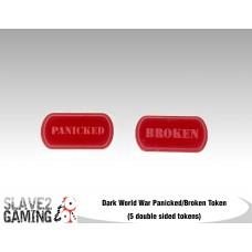 Dark World War Panicked and Broken tokens
