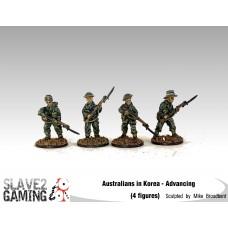 28mm Australians in Korea - Advancing
