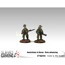 28mm Australians in Korea - Bren Advancing