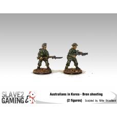 28mm Australians in Korea - Bren Shooting