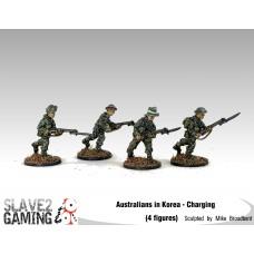 28mm Australians in Korea - Charging