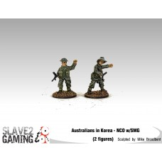 28mm Australians in Korea - NCO's