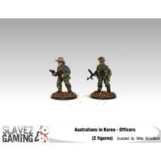 28mm Australians in Korea - Officer's
