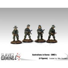 28mm Australians in Korea - SMG's
