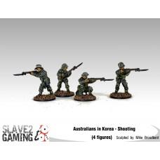 28mm Australians in Korea - Shooting