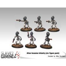 Alien Invasion Infantry 28mm
