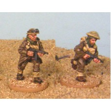 28mm Bardia -  NCOs with SMG