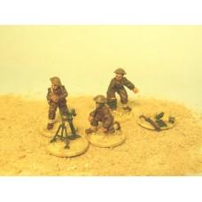 "28mm Bardia -  Stokes 3"" Mortar & Crew"