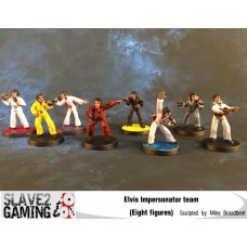 28mm Elvis Impersonator Team