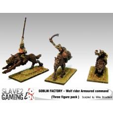 GOBLIN FACTORY - Goblin Wolf riders Armoured Command