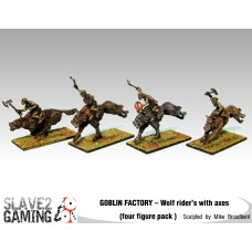 GOBLIN FACTORY - Goblin Wolf riders with Axes
