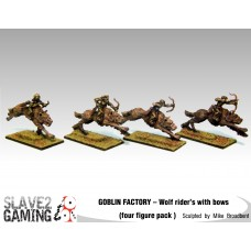 GOBLIN FACTORY - Goblin Wolf riders with Bows