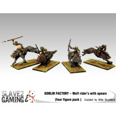 GOBLIN FACTORY - Goblin Wolf riders with Spears