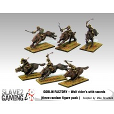 GOBLIN FACTORY - Goblin Wolf riders with Swords