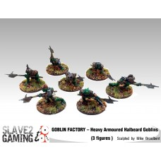 GOBLIN FACTORY - Heavy Armoured Goblins with Halberds