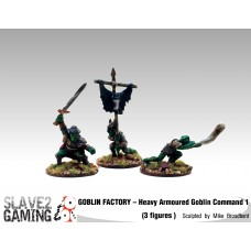 GOBLIN FACTORY - Heavy Armoured Command #1