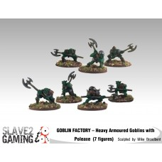 GOBLIN FACTORY - Heavy Armoured Goblins with Poleaxes