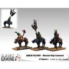 GOBLIN FACTORY - Mounted High Command