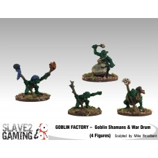 GOBLIN FACTORY - Goblin Shamans & War Drums