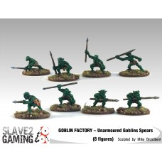 GOBLIN FACTORY - Unarmoured Goblin with spears