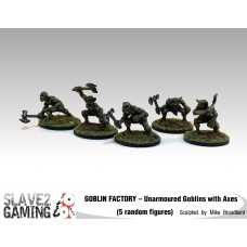 GOBLIN FACTORY - Unarmoured Goblins with Axes