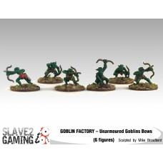 GOBLIN FACTORY - Unarmoured Goblin with Bows