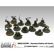 GOBLIN FACTORY - Unarmoured Goblins with Swords