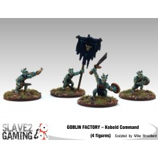 GOBLIN FACTORY - Kobold Unarmoured Foot Command Pack