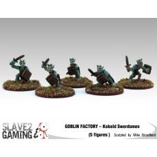 GOBLIN FACTORY - Kobold Unarmoured with Swords
