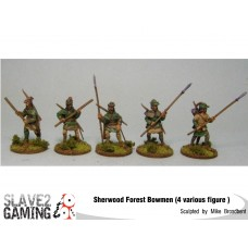 Robin Hood Staff & spear pack 28mm