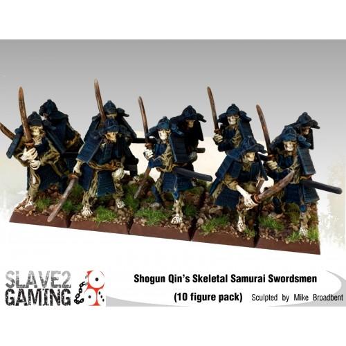 6 figures 15mm Undead Samurai
